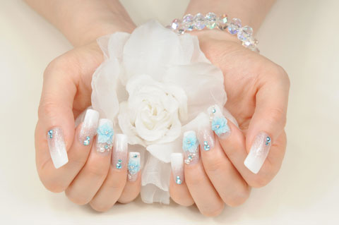 Best Nail Art Design Ideas For A Wedding 4