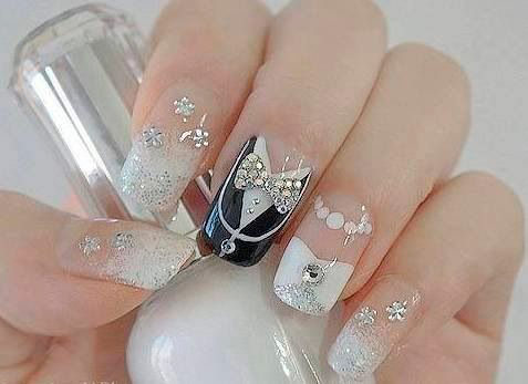 Best Nail Art Design Ideas For A Wedding 6