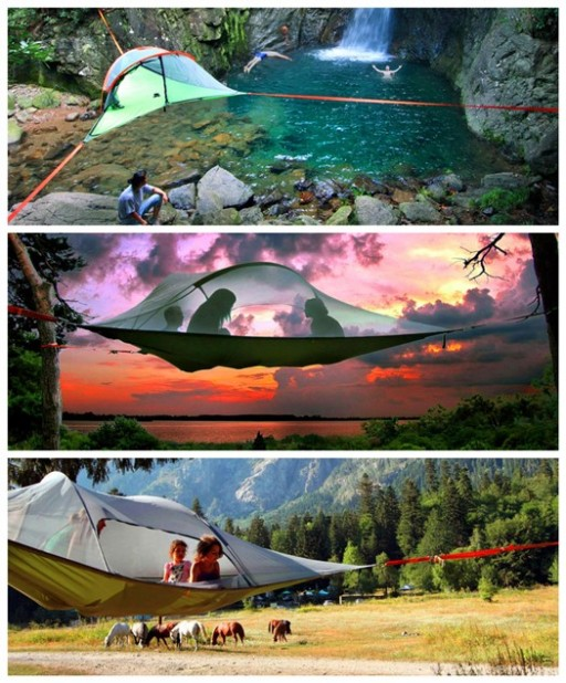 Cool Tentsile Tree Camping Tent