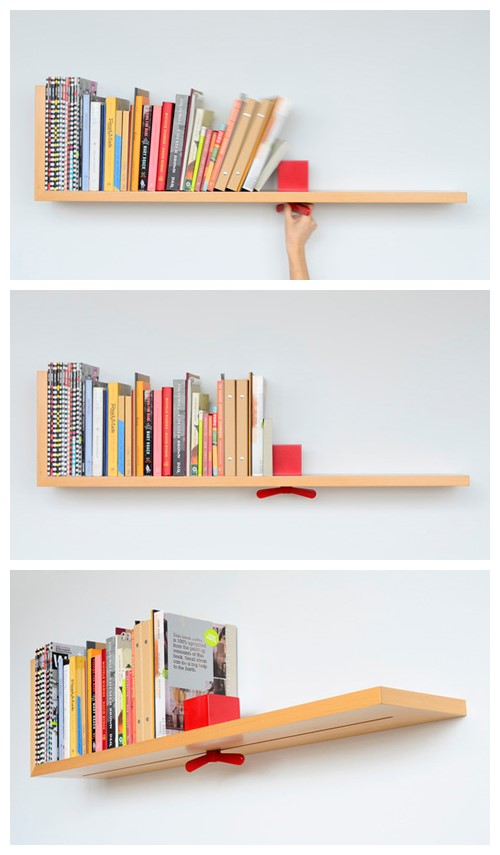Creative Hold On Tight Bookshelf 2