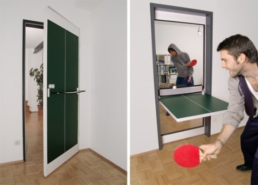 ... DIY Chalkboard Ping Pong Table Instructions. Creative Ping Pong Door  Combo 1
