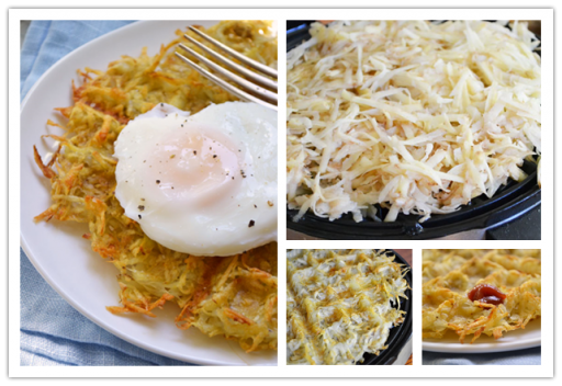 Crispy Waffle Ironed Hash Brown Potatoes Tutorial