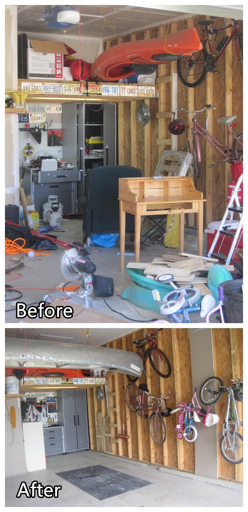 DIY Garage Organizing Ideas