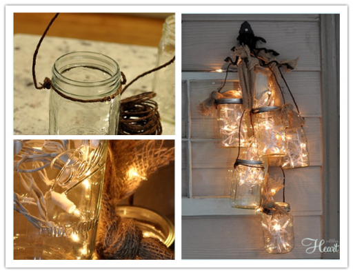 DIY Mason Jar Light Tutorial