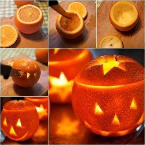 DIY Orange Lantern Tutorial