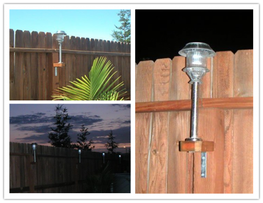How To Add Solar Lights To Your Fence