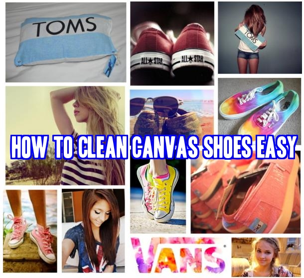How I Clean my Converse (Canvas) Shoes - YouTube