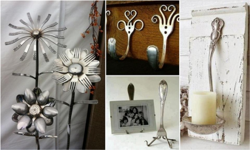 How To Make Artistic DIY Spoon Silverware Decorations 5