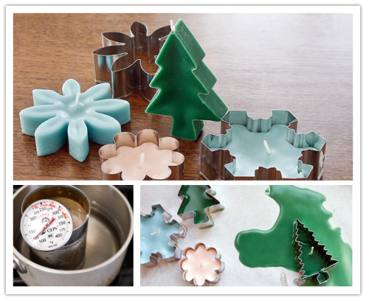 How To Make DIY Cookie Cutter Candles