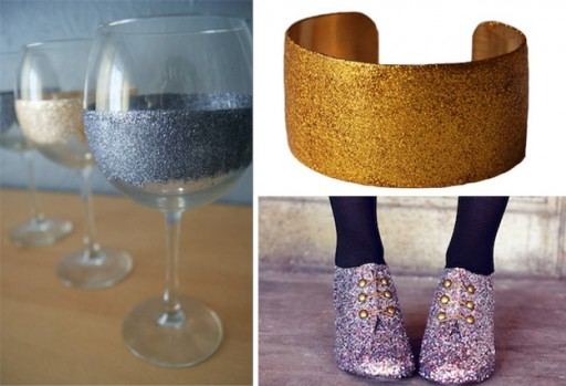 How To Make DIY Glitter Things