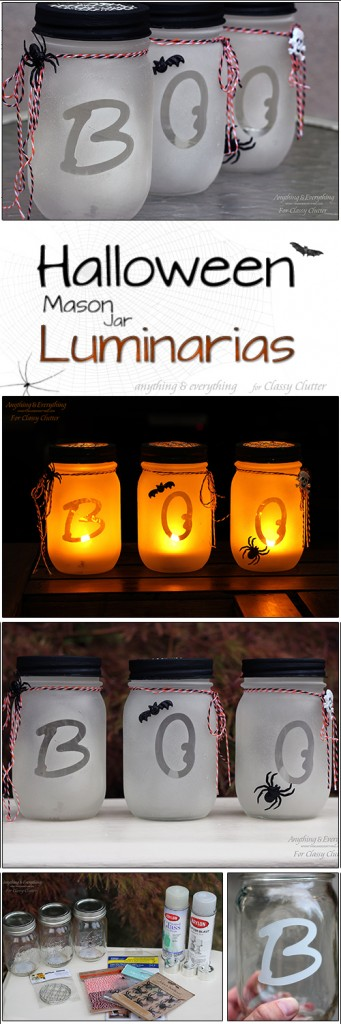 How To Make DIY Mason Jar Luminaries 1