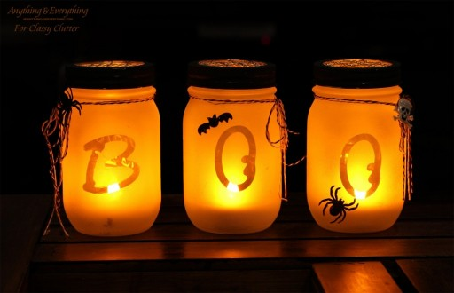 How To Make DIY Mason Jar Luminaries