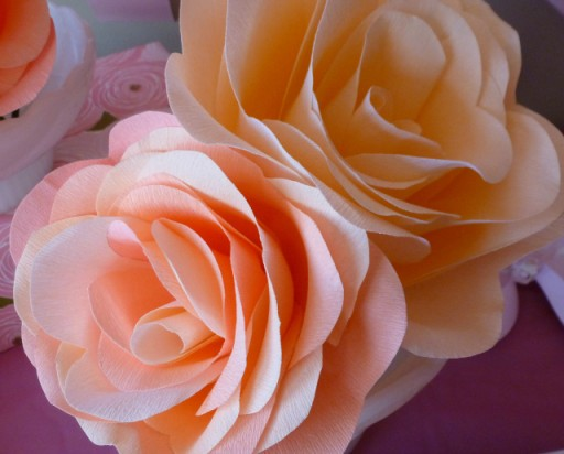 How To Make Pretty DIY Crepe Paper Flowers