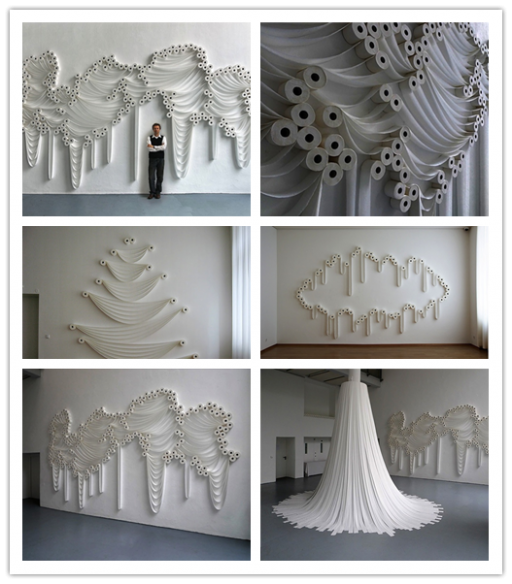 How To Make Toilet Paper Roll Art Decoration 2