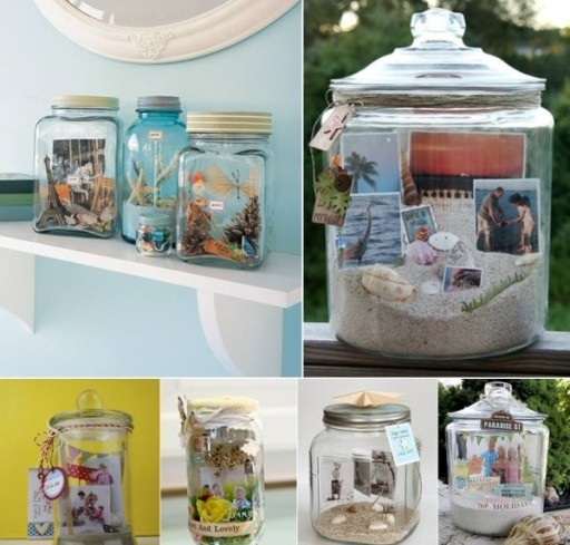 How To Organize Your Lovely Family Memories With Creative DIY Glass Jars 1