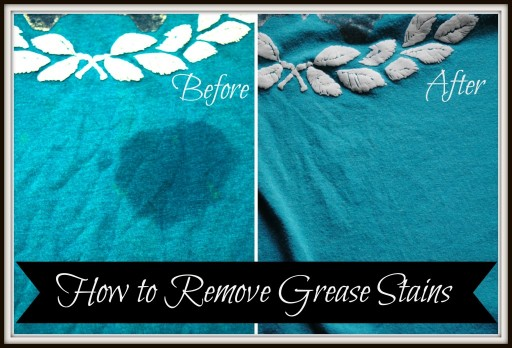 How To Remove Grease Stains Easy