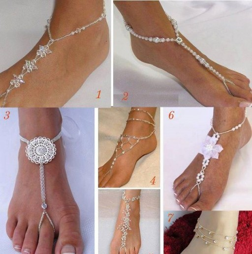 Sexy DIY Barefoot Sandal Tutorial 1