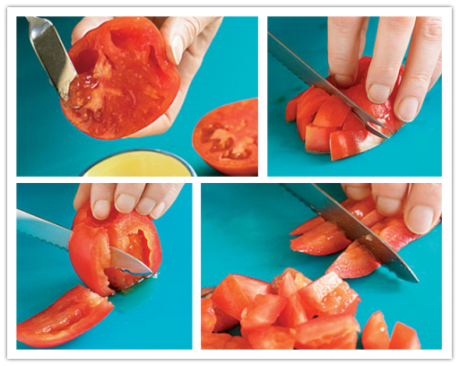 Two Ways To Dice Tomatoes For Cooking