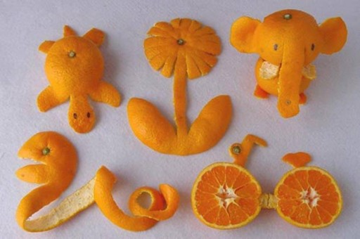 When Creativity Meets Orange Peels