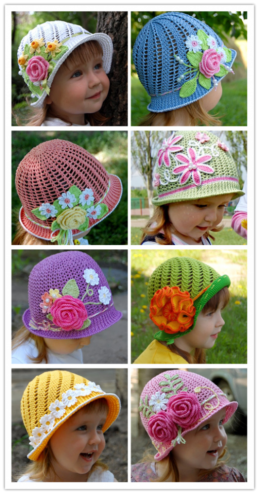 Wonderful DIY Summer Crochet Panama Hats Free Pattern 12