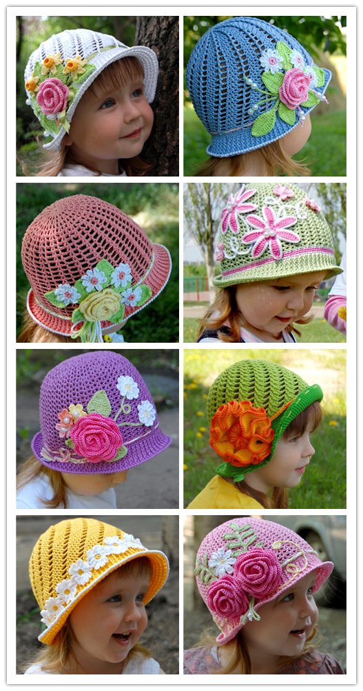 Wonderful DIY Summer Crochet Panama Hats Free Pattern 12 ...