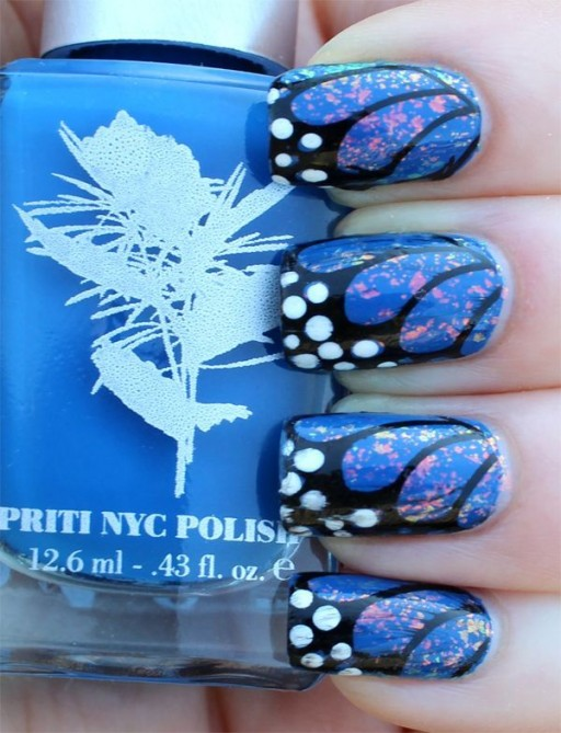 12 Gorgeous Butterfly Inspired Nail Designs 1