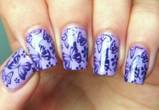 12 Gorgeous Butterfly Inspired Nail Designs 10