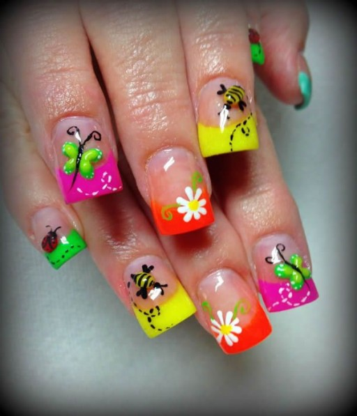 12 Gorgeous Butterfly Inspired Nail Designs 11