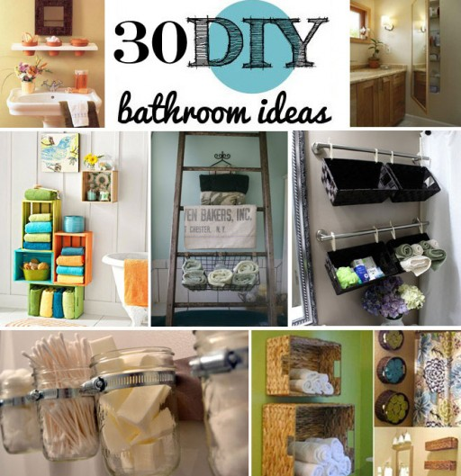 30 Brilliant Bathroom Storage Ideas 1