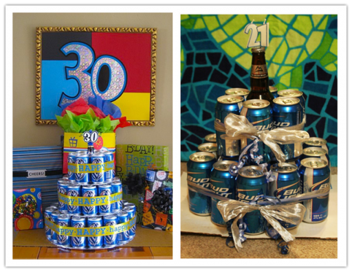 Beer Birthday Cakes - 30th Birthday Ideas