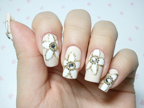Best Nail Art Design Ideas For A Wedding 7