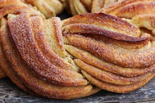 Braided Cinnamon Wreath Bread Recipe 3