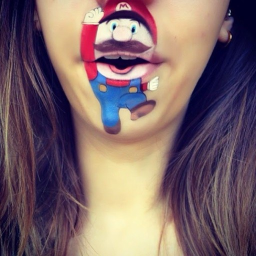Creative Lip Art From Makeup Artist Laura Jenkinson 10