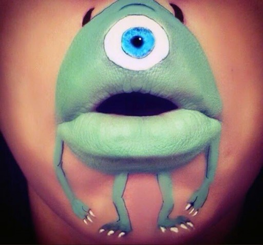 Creative Lip Art From Makeup Artist Laura Jenkinson 11