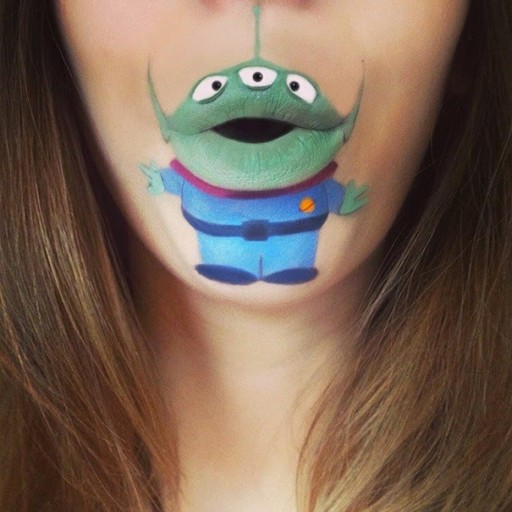 Creative Lip Art From Makeup Artist Laura Jenkinson 2