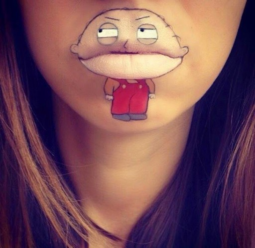 Creative Lip Art From Makeup Artist Laura Jenkinson 3