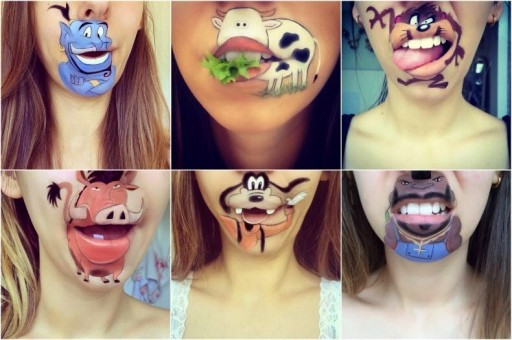 Creative Lip Art From Makeup Artist Laura Jenkinson