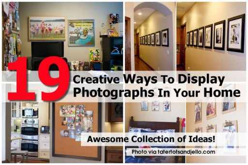 Creative Ways To Display Photographs In Your Home