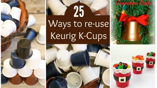 Creative Ways To Re-use Keurig K-Cups