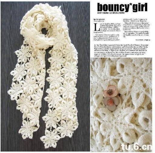 DIY Clothes - Crochet Scarf Pattern