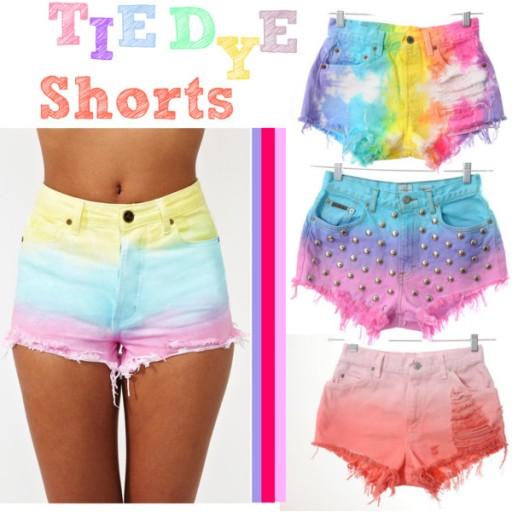 DIY Clothes - Tie Dye Shorts