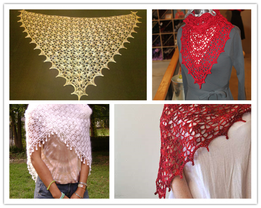 DIY Crochet Shawl Free Crochet Pattern