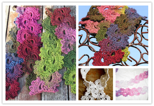 DIY Lace Scarf Free Crochet Pattern