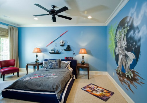 DIY Painting Ideas For Boys Bedroom 2