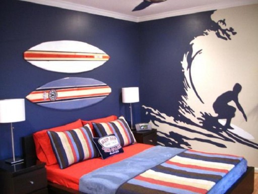 DIY Painting Ideas For Boys Bedroom 4