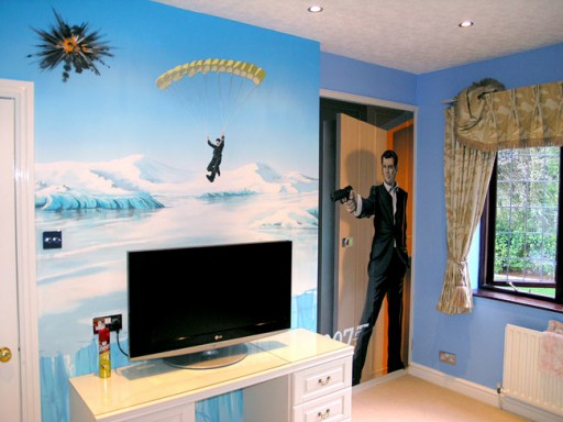 DIY Painting Ideas For Boys Bedroom 6