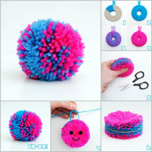 Easy DIY Yarn Pompom Tutorial