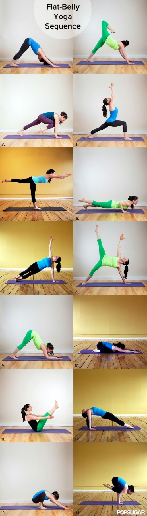How To Lose Weight And Get Flat Belly Through Yoga Exercises 1