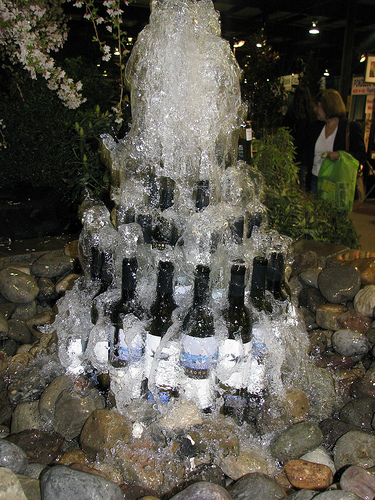 How To Make Cool DIY Wine Bottle Fountain 5