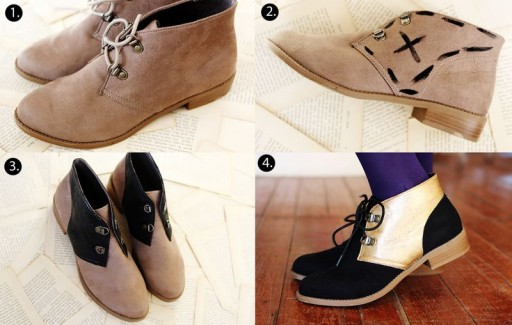 How To Make DIY Color Blocked Shoe Makeover
